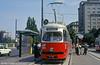Vienna 4664 at Schwedenplatz on 14th August 1992.