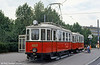 Car 4033 dating from 1928, at Karlsplatz on 15th August, 1992.