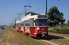 In full flight near Sporthal, coupled Antwerpen PCC cars are headed by 2139 dating from 1974-75.