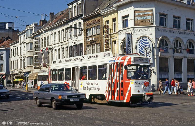 Car 2121 at Gemeentestraat on 29th August, 1991.