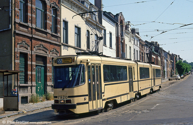 Car 7920 at Silence on 2nd August 1990.