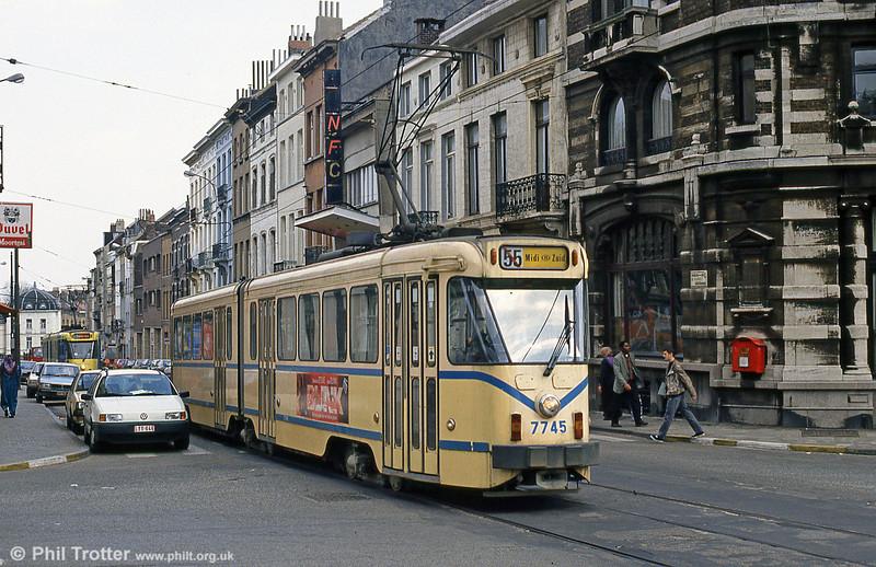 Car 7745 at Pogge on 14th April 1994.