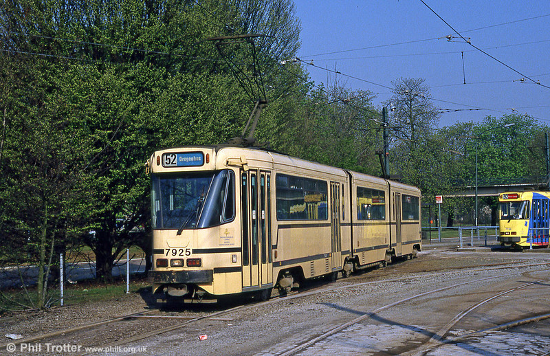 Car 7925 at Esplanade on 12th Aptil 1994.