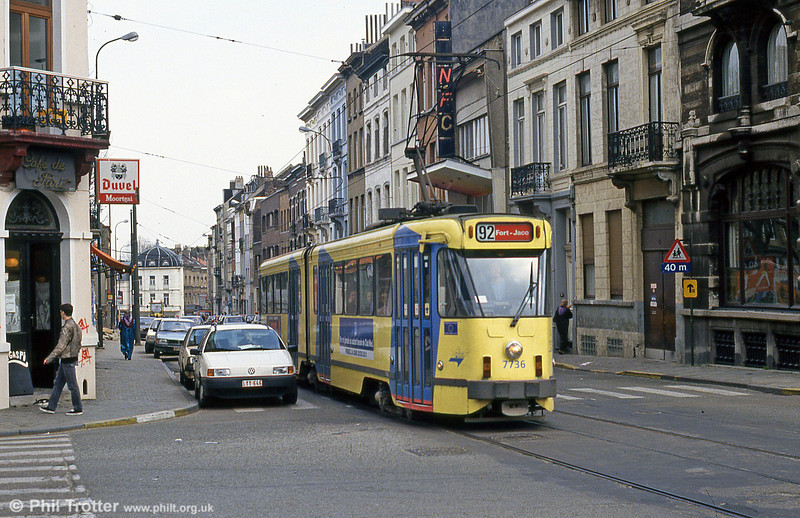 Car 7736 at Pogge on 14th April 1994.