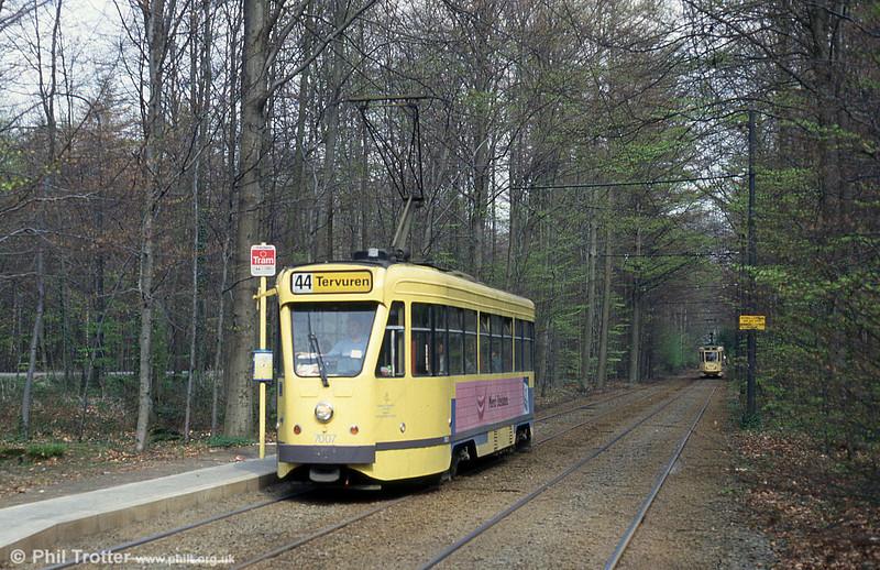 Car 7007 at Tir au Pigeons on 22nd April 1994.