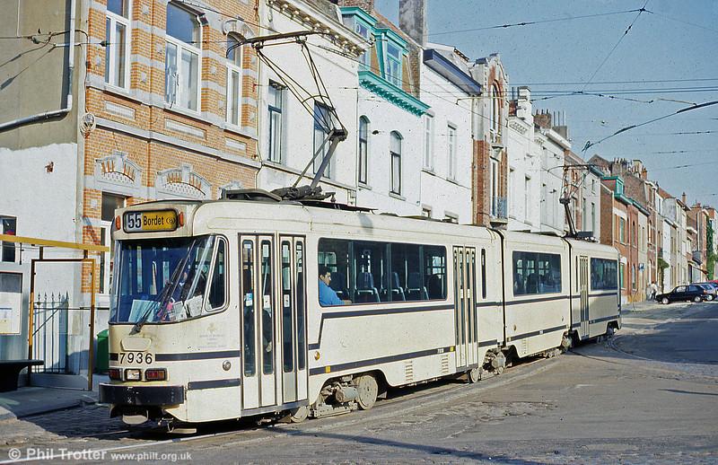 Car 7936 at Silence on 22nd April 1994.