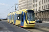 Brand-new Brussels car 2004 on a driver familiarisation run at Louiza on 12th April 1994. (First published in Light Rail & Modern Tramway, 9/94).