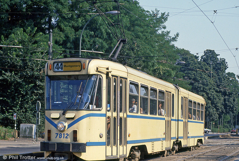 Car 7812 at Woluwe on 2nd August 1990.