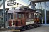 1903-built California car 346 of Chemins de Fer Economiques at Woluwe Museum on 25th August 1991.