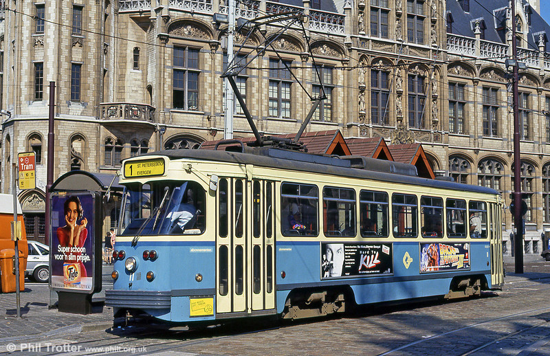 Car 11 at Korenmarkt on 31st July 1990.
