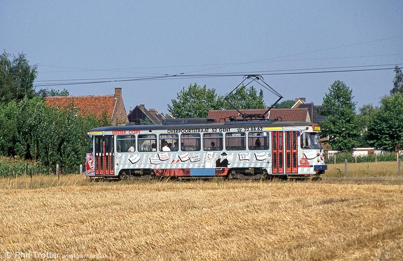 Car 27 at Hoevestraat on 31st July 1990.