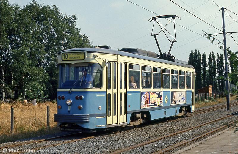 Car 11 at Hoevestraat on 31st July 1990.
