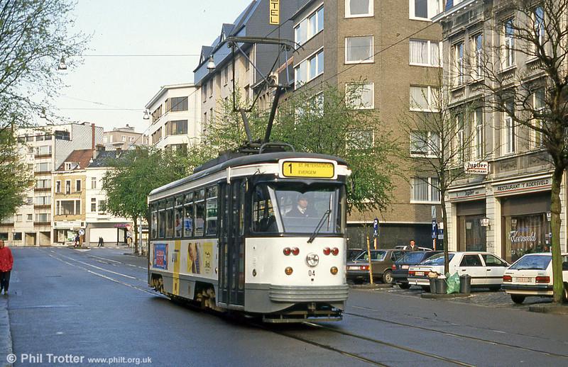 Car 04 at Koningin Elisabethlaan on 10th April 1994.