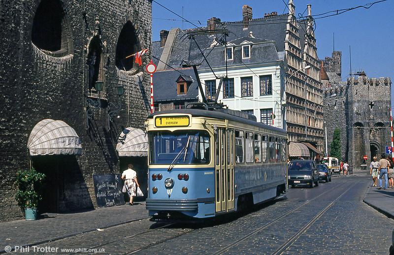 Car 07 at Groentenmarkt on 31st July 1990.