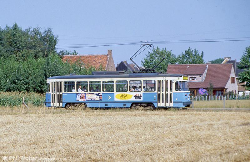 Car 16 at Hoevestraat on 31st July 1990.
