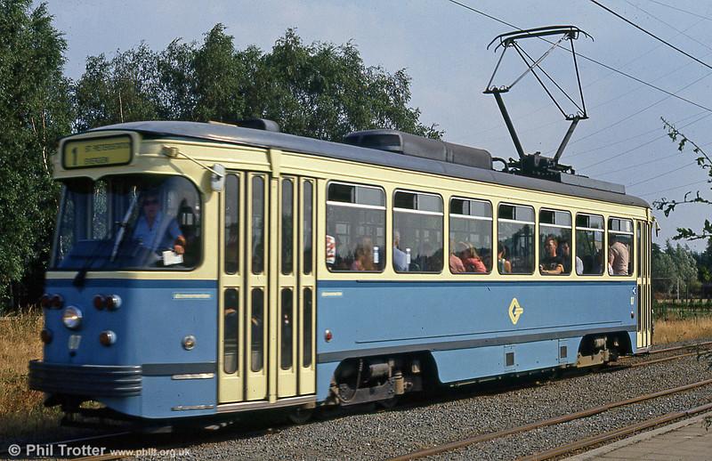 Car 07 at Hoevestraat on 31st July 1990.