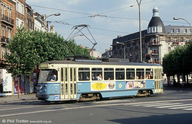 Car 44 at Sint-Pietersstation on 30th July 1990.