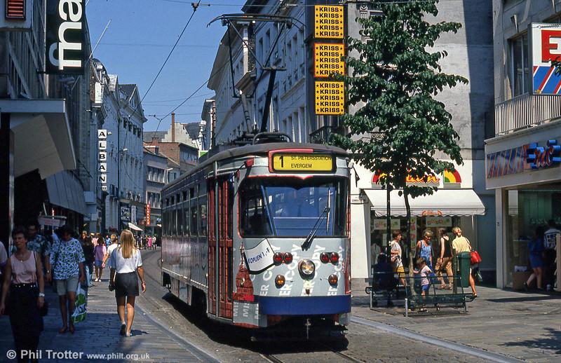 Car 27 at Veldstraat on 31st July 1990.