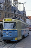 Car 50 at Korenmarkt on 31st July 1990.