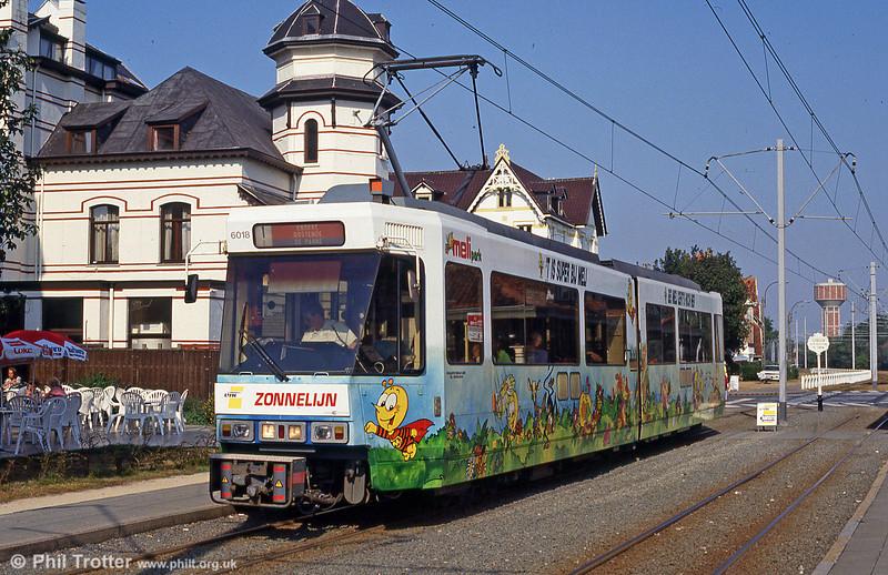 Car 6018 at De Haan on 31st August 1991.