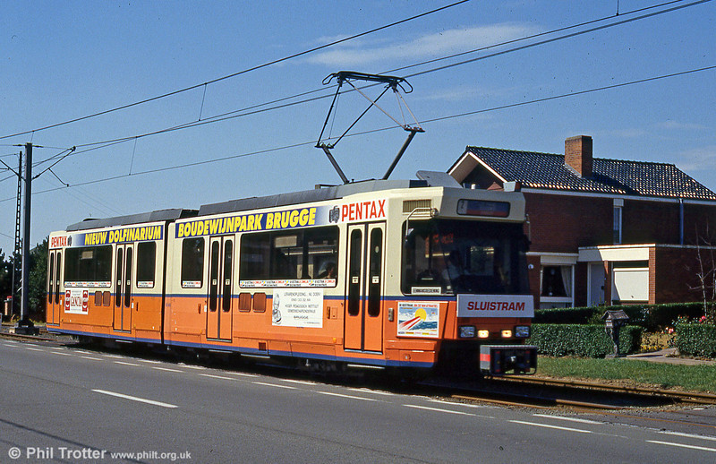 Car 6048 at Nieuwpoort on 30th July 1990.