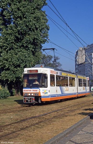 Car 6045 at Ostend on 1st September 1991.