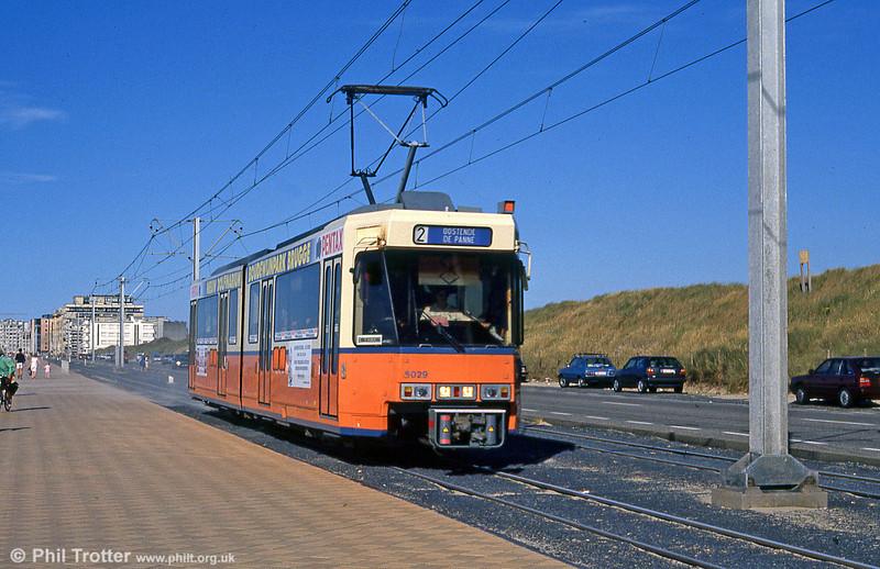 Car 6029 at Ravelingen on 29th July 1990.