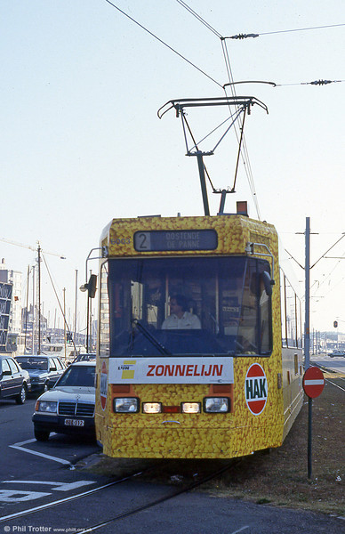 Car 6003 at Ostend on 1st September 1991.