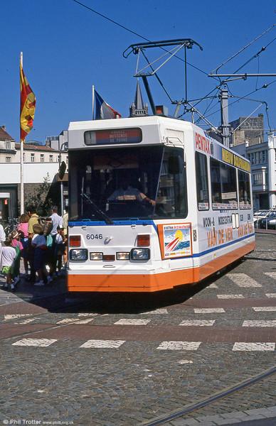 Car 6046 at Blankenberge on 29th July 1990.