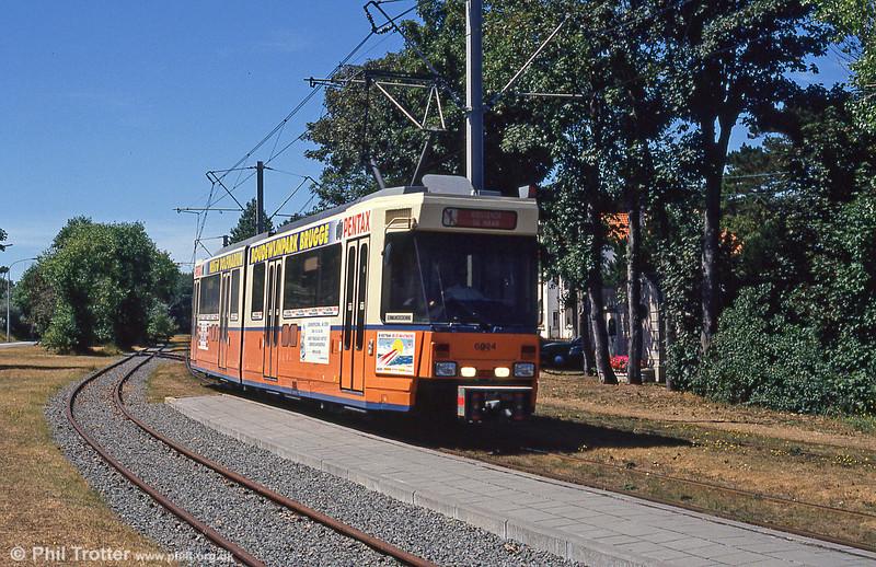 Car 6024 at De Haan on 29th July 1990.