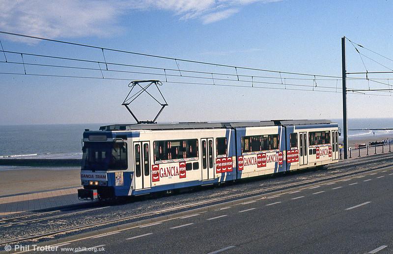Car 6102 at Ravelingen on 30th July 1990.