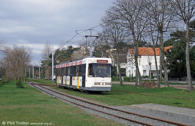Car 6041 at De Haan on 10th April 1994.