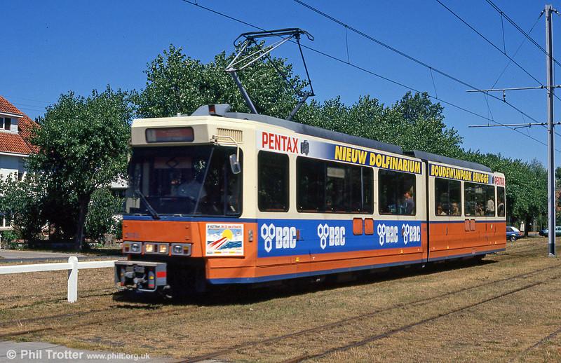 Car 6032 at De Haan on 29th July 1990.