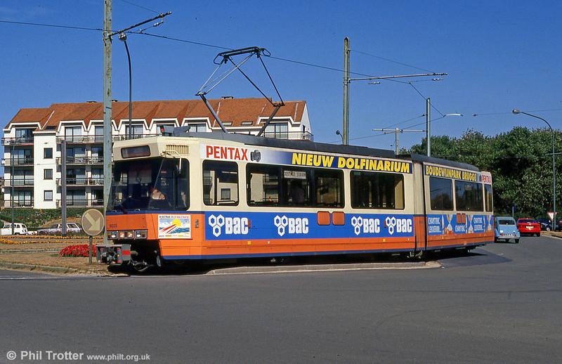 Car 6023 at De Panne on 29th July 1990.