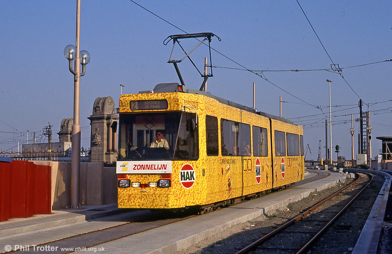 Car 6003 at Ostend on 31st August 1991.