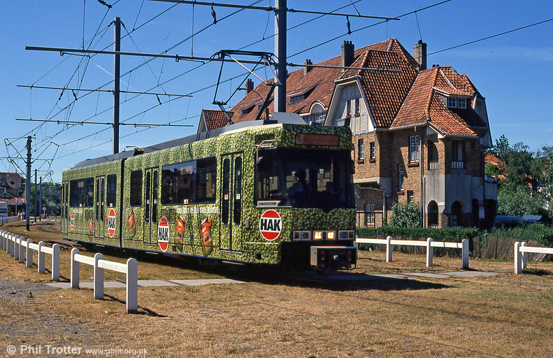 Car 6011 at De Haan on 29th July 1990.