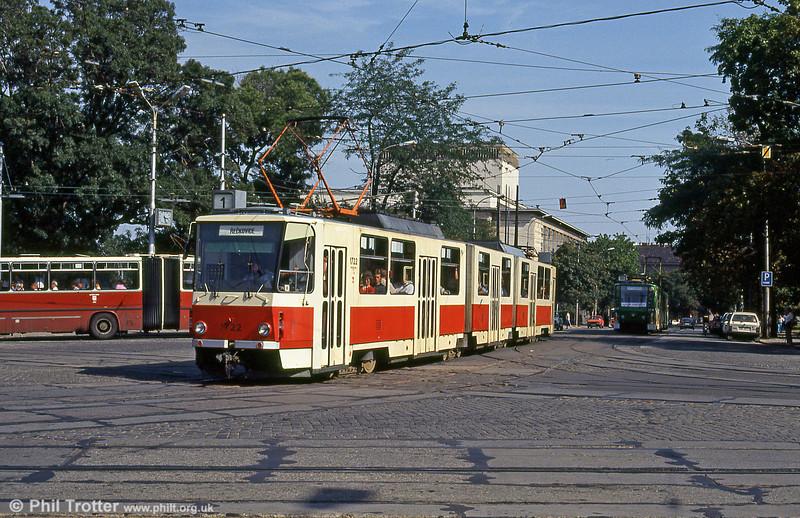 KT8D5 1722 at Moravské náměstí on 17th August 1992.