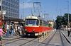 T3 1536 at Hlavní nádraží on 17th August 1992.