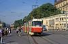 Tatra K2 1034 at Hlavní nádraží on 17th August 1992.