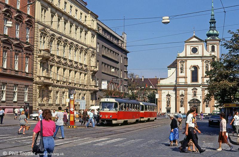 T3 1551 at Joštova on 17th August 1992.