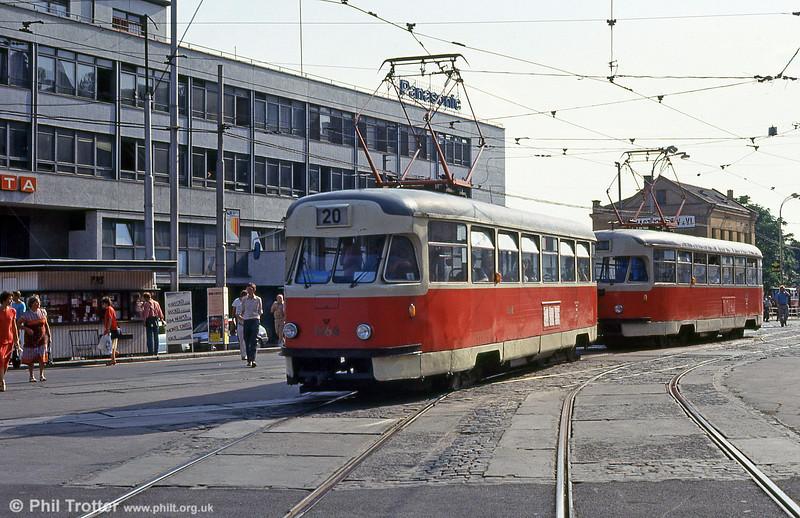 T2 1468 at Hlavní nádraží on 17th August 1992.