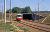 K2 1128 at Bystrc Rakovecká terminus on 17th August 1992.