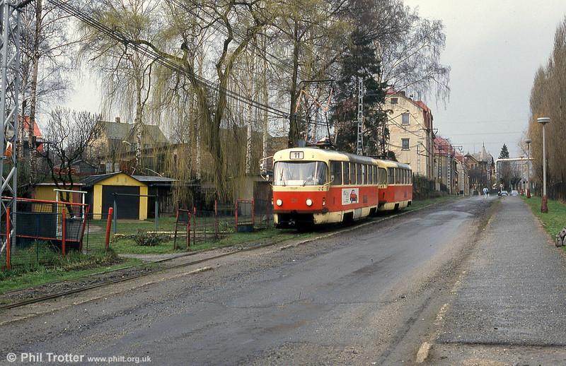 Car 80 at at  Vratislovice on 19th April 1993.