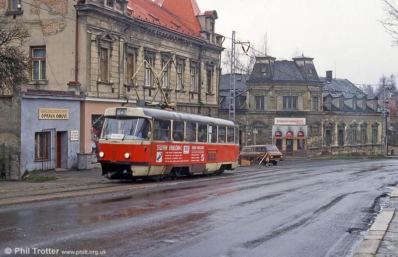 Liberec 47 at Vratislovice on 19th April 1993.