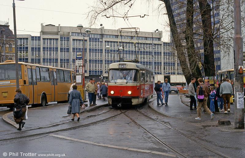 Liberec 67 in the City Centre on 19th April 1993.