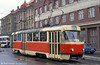 Car 69 near Liberec railway station on 19th April 1993.