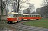 Liberec Tatra T3 no. 80 at Jablonec terminus on 19th April 1993.
