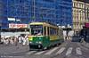 Car 55 at Alexandersgatan on 1st August 1991.