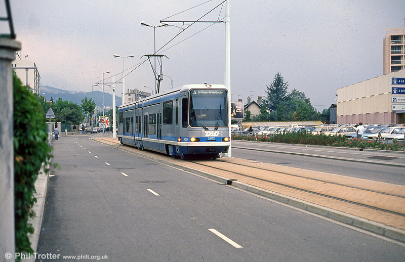 Car 2012 at Fontaine la Poya on 2nd September 1989.
