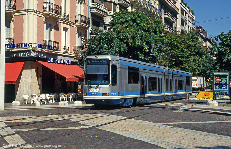 Grenoble 2006 at Avenue Alsace Lorraine on 28th July 1993.